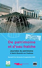 De patrimoine et d'eau fraîche, JDP 2007